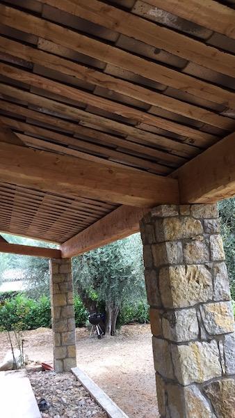 Couverture pour avancée de terrasse