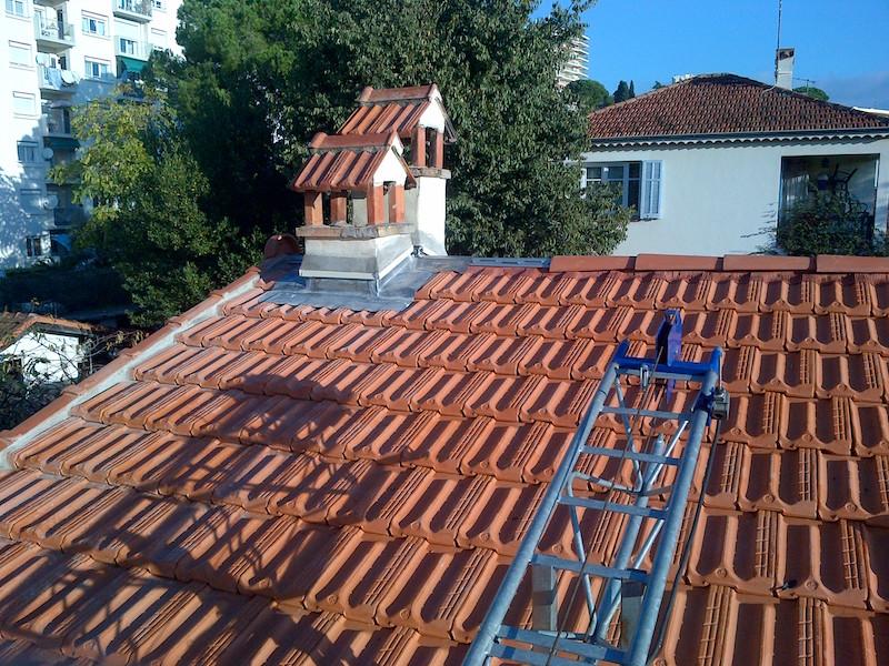 Couverture de toit et création de cheminées