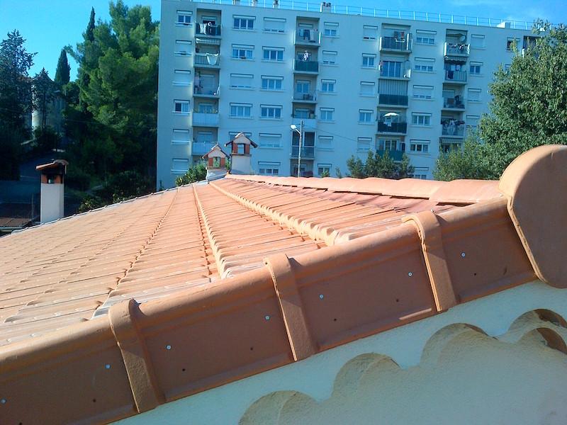 Exemple de toiture entièrement rénovée